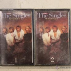 Casetes antiguos: ABBA THE SINGLES - THE FIRST TEN YEARS. Lote 49167575