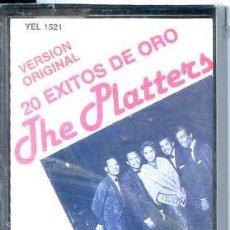 Casetes antiguos: THE PLATTERS / 20 EXITOS DE ORO (PDI) PRECINTADA. Lote 49190213
