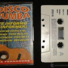Casetes antiguos: LOS FERNANDOS - DISCO RUMBA - TE INFORMO - SPAIN CASSETTE SONO TREX 1993. Lote 49341255