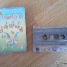 Cassetes antigas: EL NUEVO MUNDO DE LOS GNOMOS - BRB 1996. Lote 49475529
