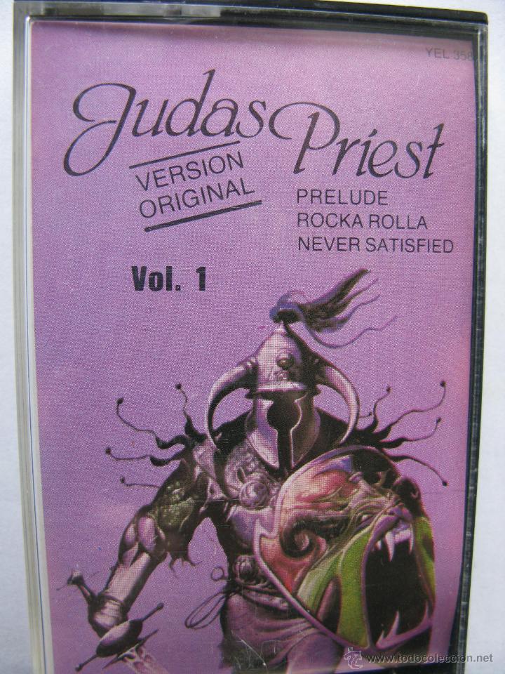 JUDAS PRIEST. (HERO,HERO) VERSION ORIGINAL. VOL. 1. DISCOS VICTORIA. (Música - Casetes)