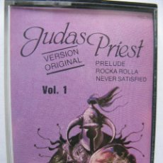 Casetes antiguos: JUDAS PRIEST. (HERO,HERO) VERSION ORIGINAL. VOL. 1. DISCOS VICTORIA.. Lote 49540317