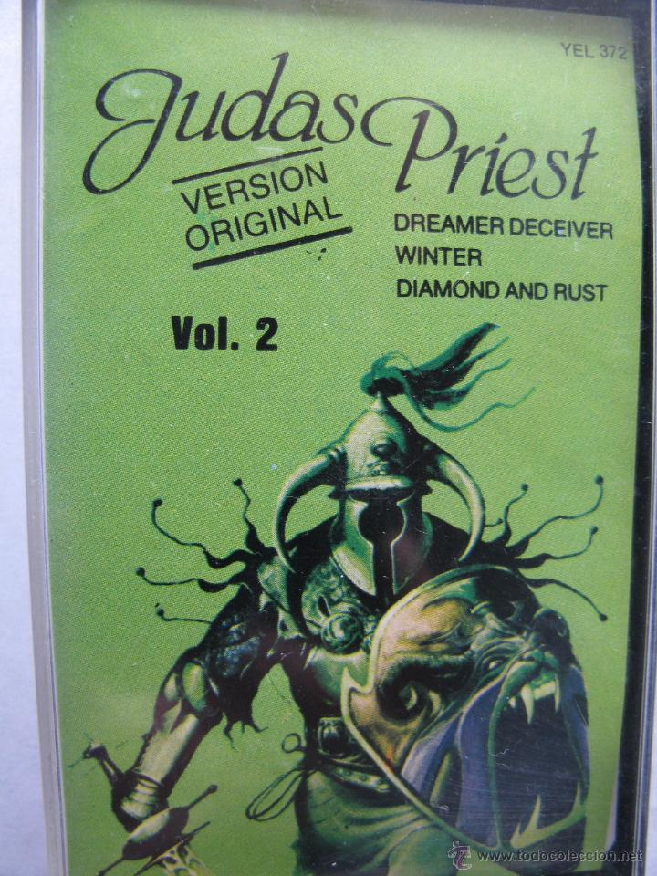 JUDAS PRIEST. (HERO,HERO) VERSION ORIGINAL. VOL. 2. DISCOS VICTORIA. (Música - Casetes)