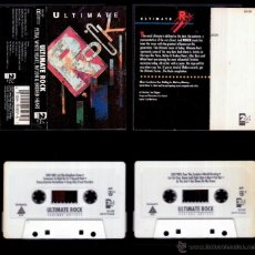 Casetes antiguos: ULTIMATE ROCK - US CASSETTE 214 RECORDS 1991 - WHITE HEART / ALLIES /ONE BAD PIG. Lote 49825285