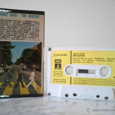 Casetes antiguos: CASETE - THE BEATLES - ABBEY ROAD - EMI-ODEON - 1970 (1J 244-04.243 / 1 J 244-04 243). Lote 49874467