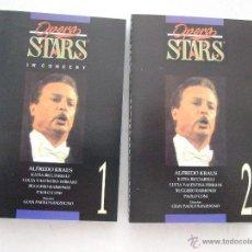 Casetes antiguos: CINTA CASETE 1 Y 2 - OPERA STARS - ALFREDO KRAUS - 1997 - 2 CINTAS - 9 TEMAS CADA UNO. Lote 49910606