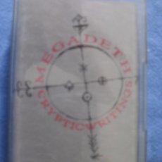 Casetes antiguos: CASETE MEGADETH CRYPTIC WRITTINGS HEAVY METAL ------- (REF M2 E3). Lote 50022504