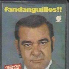 Casetes antiguos: FANDANGUILLOS!! - JUANITO MARAVILLAS --1979 -CASETES SEGUNDA MANO. Lote 50054058