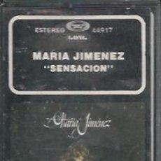 Casetes antiguos: MARIA JIMENEZ - SENSACIÓN --1980 CASETES SEGUNDA MANO. Lote 50054190