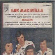 Casetes antiguos: LOS MARAVILLAS. 1976 -CASETES SEGUNDA MANO. Lote 50093592