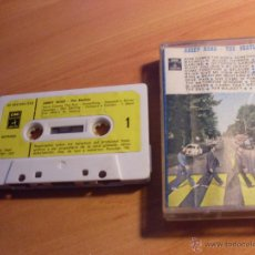 Casetes antiguos: THE BEATLES (ABBEY ROAD ) CASSETTE ESPAÑA 10C 264-004.243 (CAS8). Lote 50141307