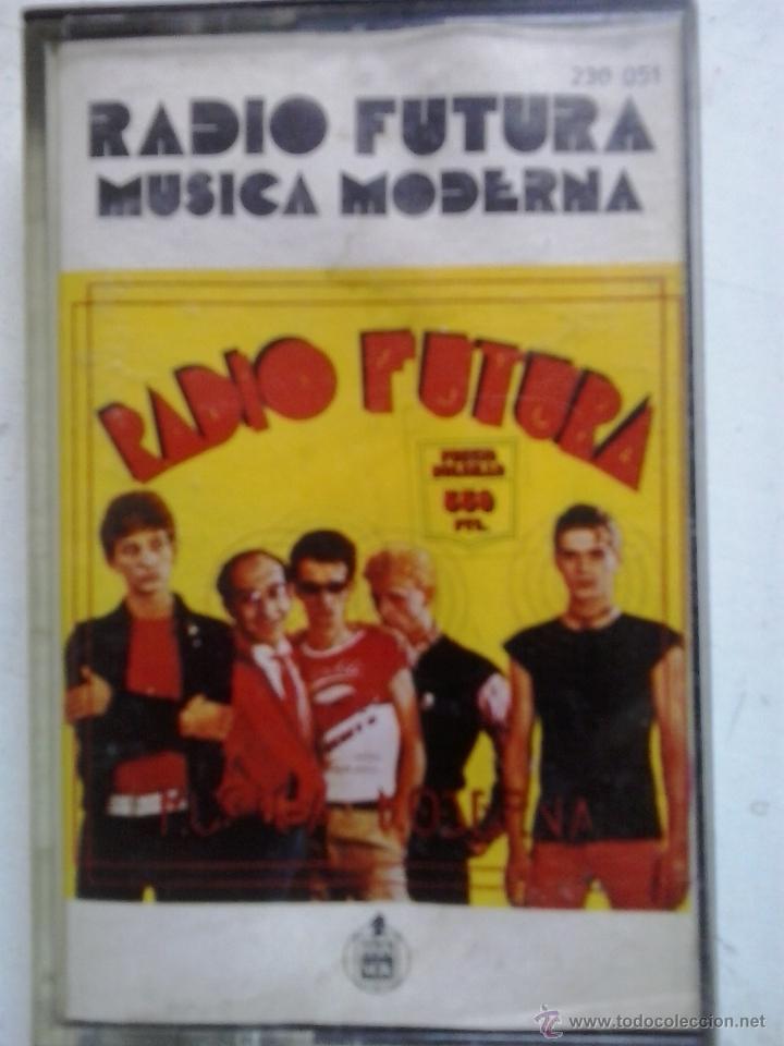 RADIO FUTURA-MUSICA MODERNA-CASSETTE (Música - Casetes)