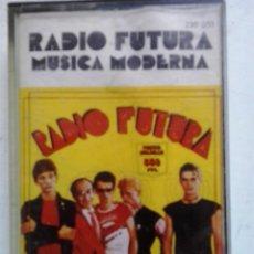 Casetes antiguos: RADIO FUTURA-MUSICA MODERNA-CASSETTE. Lote 50243735