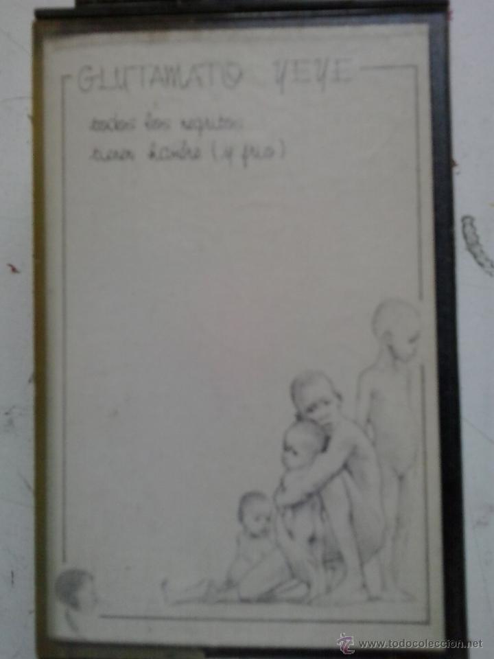 GLUTAMATO YE-YE ?– TODOS LOS NEGRITOS TIENEN HAMBRE (Y FRIO)-CASSETE (Música - Casetes)