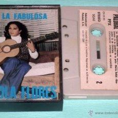 Casetes antiguos: CINTA LOLA FLORES - LA FABULOSA. Lote 51127092