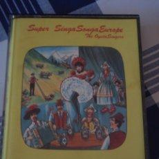 Casetes antiguos: SUPER SINGA SONGA EUROPE [2 CASETES]. Lote 211732080