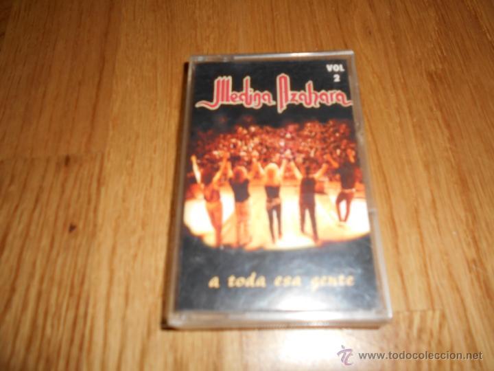 CINTA MUSICA MEDINA AZAHARA CARAVANA ESPAÑOLA CASSETTE (Música - Casetes)
