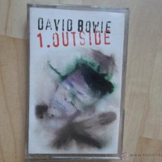 Casetes antiguos: DAVID BOWIE - 1.OUTSIDE 1995. Lote 51521578