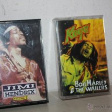Casetes antiguos: JIMI HENDRIX 1991=VOLUMEN 2=BOB MARLEY THE WAILERS=EXIT RECORDS=. Lote 51557828