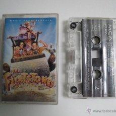 Casetes antiguos: CASSETTE THE FLINSTONES MUSIC FROM BEDROCK 1994 . Lote 51576382