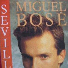 Casetes antiguos: MIGUEL BOSÉ. SEVILLA. CBS 40-15812. 1986.. Lote 52138003