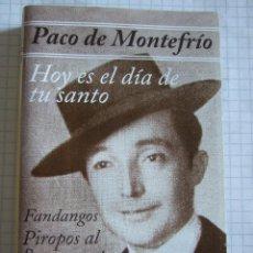 Casetes antiguos: CINTA CASETE - PACO DE MONTEFRIO - GRANDES EXITOS - FODS RECORDS 1999 - 8 TEMAS. Lote 52413307