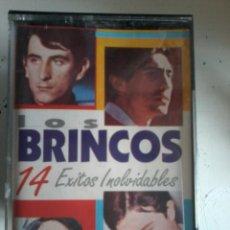 Casetes antiguos: LOS BRINCOS-14 EXITOS INOLVIDABLES-CASETE. Lote 52646111