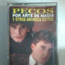 Casetes antiguos: PECOS-POR ARTE DE MAGIA Y OTROS GRANDES EXITOS-CASETE. Lote 52692714