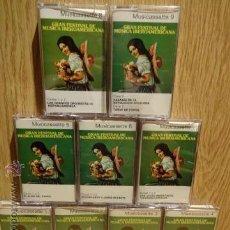 Casetes antiguos: GRAN FESTIVAL DE MÚSICA IBEROAMERICANA. 9 CASETES. ED / READER'S DIGEST - 1972. / LUJO.. Lote 52752561
