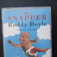 Casetes antiguos: THE SNAPPER ROODY DOYLE. READ BY GER RYAN. REED AUDIO. AUDIOBOOKS. DOBLE CASETE.. Lote 52806679