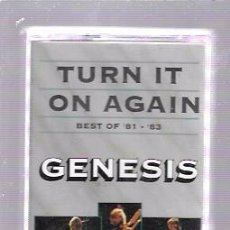 Casetes antiguos: CINTA DE CASETE. GENESIS. TURN IT ON AGAIN. BEST OF 81-83.. Lote 52877436
