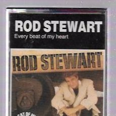 Casetes antiguos: CINTA DE CASETE. ROD STEWART. EVERY BEAT OF MY HEART.. Lote 52878114