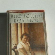 Casetes antiguos: JULIO IGLESIAS-NON STOP-CASSETE. Lote 52912073