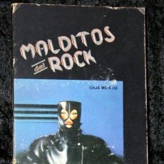 Casetes antiguos: MALDITOS DEL ROCK - VAINICA DOBLE - LA ROMANTICA BANDA LOCAL - DESDE SANTURCE A BILBAO BLUES BAND. Lote 52945790