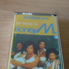 Cassetes antigas: CASETE - CASSETTE - BONEY M - 20 GOLDEN HITS. Lote 53147921