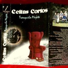 Casetes antiguos: CARATULA CASSETTE CELTAS CORTOS -TRANQUILO MAJETE 1993 (SOL CARATULA PORTADA DESPLEGABLE SIN CASETE). Lote 53215474