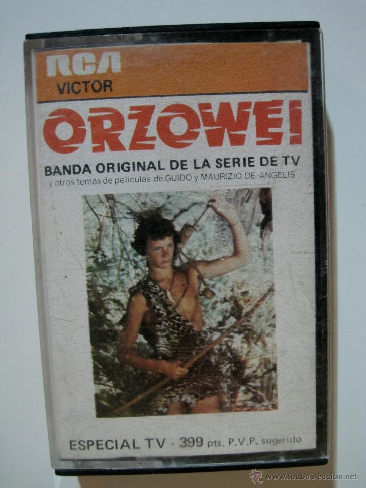 ORZOWEI - CASSETTE RCA VICTOR 1977 - BSO DE LA SERIE (Música - Casetes)