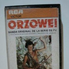 Casetes antiguos: ORZOWEI - CASSETTE RCA VICTOR 1977 - BSO DE LA SERIE. Lote 53522814