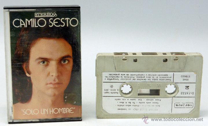Camilo sesto solo un hombre 1972