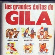 Casetes antiguos: CASETE - LOS GRANDES EXITOS DE GILA - AÑO 1978 -----(REF M1 E2). Lote 53580025