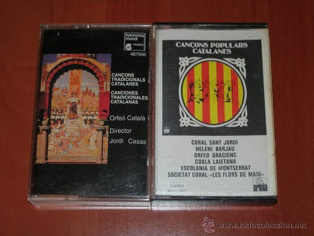CANCIONES TRADICIONALES CATALANAS - CASETES (Música - Casetes)