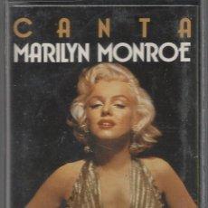 Cassette antiche: MARILYN MONROE - 1987. Lote 54233866