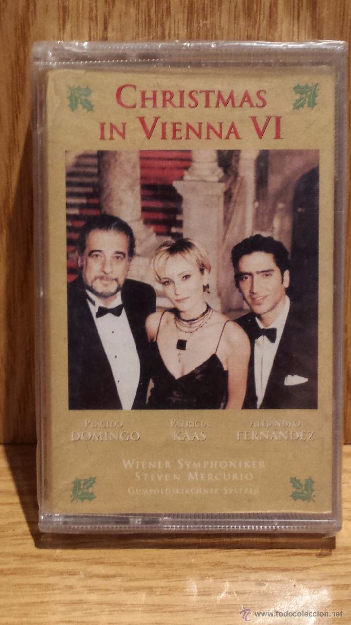 CHRISTMAS IN VIENNA VI. MC / SONY MUSIC - 1999 / PRECINTADO. (Música - Casetes)