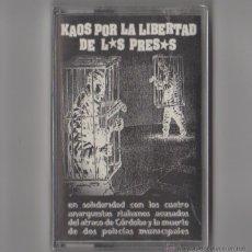 Casetes antiguos: OI THE ARRASE - BAD TASTE - O.G.T. - O.B.N.I. - KAOS POR LA LIBERTAD DE LOS PRESOS. Lote 54384096