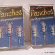 Casetes antiguos: DOBLE CASETE LOS PANCHOS AÑO 1990 TODO PANCHOS 24 TEMAS. Lote 54700817