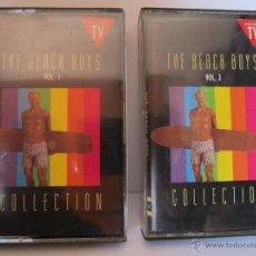 Casetes antiguos: DOBLE CASETE THE BEACH BOYS COLLECTION AÑO 1990 ANUNCIADO EN TV. Lote 54821716