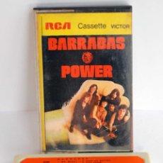 Casetes antiguos: BARRABAS POWER EN CASSETTE AÑO 1972 RCA CASSETTE VICTO. Lote 54881313