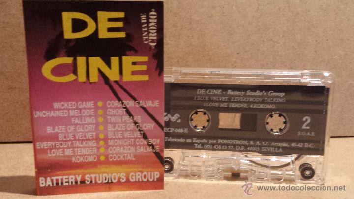 BATTERY STUDIO'S GROUP. DE CINE. MC / ECP - 1991 / CALIDAD LUJO (Música - Casetes)
