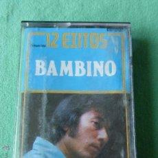 BAMBINO.12 EXITOS - CASETE - CINTA DE CASETTE