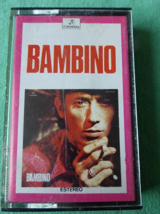 BAMBINO - CASETE - CINTA DE CASETTE (Música - Casetes)
